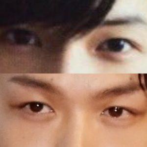 中村倫也,松村北斗,似ている,似てる,目,そっくり