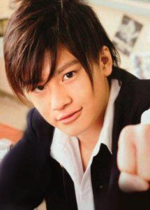 森本慎太郎,昔,中学生