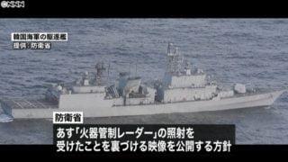 韓国軍,レーダー照射問題,海外の反応