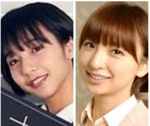 山之内すず、篠田麻里子、似てる